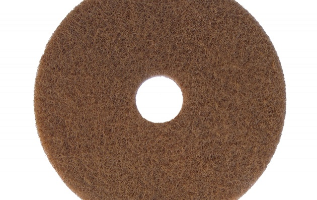Renewed colour brown floor pad