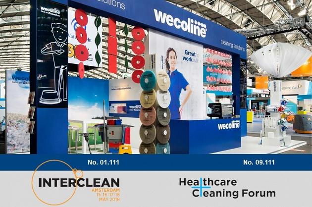 Wecoline with surprising products on Interclean 2018