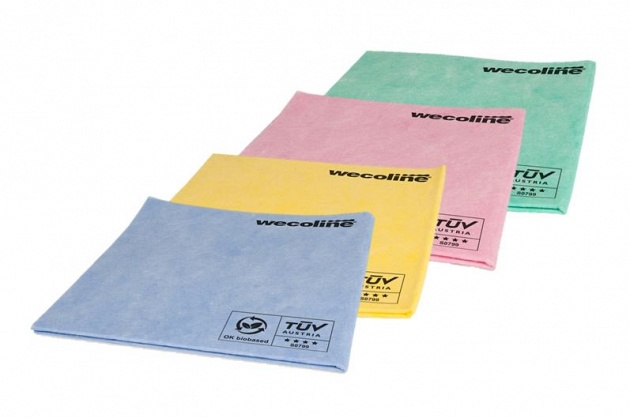 Wecoline OK biobased nonwoven cloths solution in CSR cleaning policy
