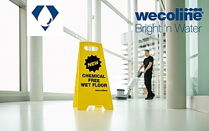 Wecoline Bright 'n Water pads guarantee shining results