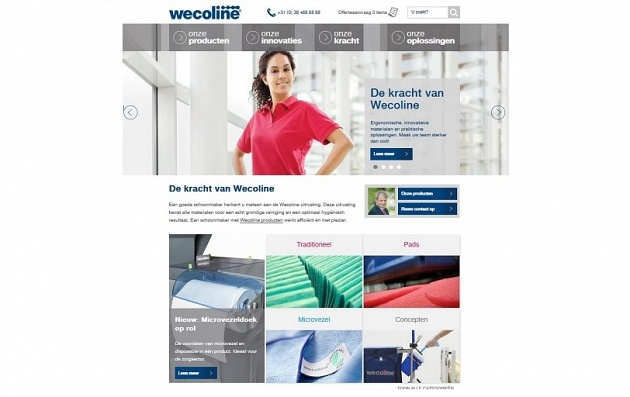Wecoline launches new website