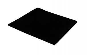 New: black non woven cleaning cloths with an unique look.
