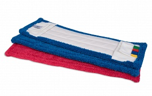 New: Microfibre mops with pockets and flaps